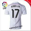 Maillot Fc Real Madrid (Arbeloa 17) 2014 2015 Domicile