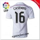 Maillot Fc Real Madrid (Casemiro 16) 2014 2015 Domicile