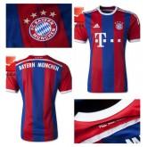 Maillot Foot Bayern Munich 2014 15 Domicile Vente En Ligne