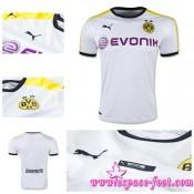 Maillot Foot Borussia Dortmund 2015 2016 Troisième Paris