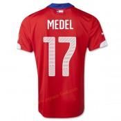 Maillot Foot Chili 2014 Coupe Du Monde Medel Domicile Vente Privee