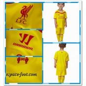 Maillot Foot Enfant Kits Liverpool 2014 2015 Extérieur Soldes Avignon