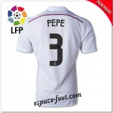 Maillot Foot Fc Real Madrid (Pepe 3) 2014 2015 Domicile