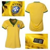 Maillot Foot Femme Brésil 2014/15 Domicile