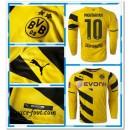 Maillot Foot Manche Longue Dortmund Mkhitaryan 2014/15 Domicile France