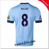 Maillot Foot Manchester City (Nasri 8) 2014-15 Domicile Magasin Paris