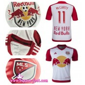 Maillot Foot Pascher - Maillot Foot New York Red Bulls Mccarty 2015 Game Domicile