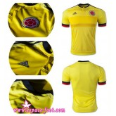 Maillot Foot Pascher - Maillots Colombie 2015 Game Domicile Europe