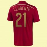 Maillot Football Espagne (Llorente 21) 2014 World Cup Domicile Adidas Fiable