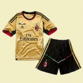 Maillot Football Junior Ac Milan 2015/16 3rd Magasin Lyon