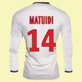 Maillot Football Manches Longues Psg (Matuidi 14) 2014-2015 Extérieur Soldes Lyon