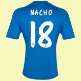 Maillot Football Real Madrid Fc (Nacho 18) 2015/16 Extérieur Adidas Officiel
