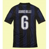 Maillot Inter Milan (Andreolli 6) 2015/16 Domicile Nike Vintage Magasin Paris