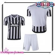 Maillot Juventus 2015-16 Enfant Kits Domicile Maillots De Foote