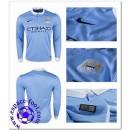 Maillot Manchester City 2015 2016 Manche Longue Domicile Hot Sale