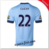 Maillot Manchester City (Clichy 22) 2014 2015 Domicile Original