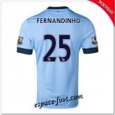 Maillot Manchester City (Fernandinho 25) 2014 2015 Domicile Site Officiel France