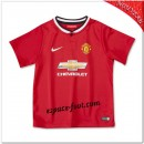 Maillot Manchester United Domicile 2014 2015 Enfant Trousse