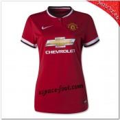 Maillot Manchester United Domicile 2014 2015 Femme Catalogue