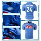 Maillot Napoli L.Insigne 2014/15 Domicile Pas Cher Marseille