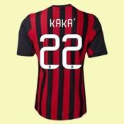 Maillots Ac Milan (Kaka 22) 2014-2015 Domicile Adidas Escompte
