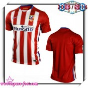 Maillots Atletico Madrid 2015 2016 Domicile Vente De Maillots De Foot Magasin Paris