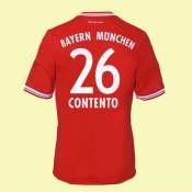 Maillots Bayern Munich (Contento 26) 2014-2015 Domicile Adidas Pas Cher France
