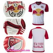 Maillots De Foot - Maillot New York Red Bulls 2015 Game Domicile