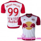 Maillots De Foot Wright Phillips 2015/16 New York Red Bulls Maillots Foot Wright Phillips 2015/16 Game Domicile