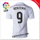 Maillots Fc Real Madrid (Benzema 9) 2014 2015 Domicile