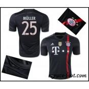 Maillots Foot Bayern Munich Muller 2015 Race Third Ventes Privees