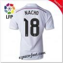 Maillots Foot Fc Real Madrid (Nacho 18) 2014 15 Domicile