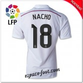 Maillots Foot Fc Real Madrid (Nacho 18) 2014 15 Domicile