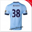 Maillots Foot Manchester City (Boyata 38) 2014 2015 Domicile