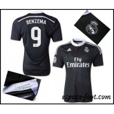 Maillots Real Madrid Benzema 2015 Race Third