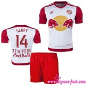 New York Red Bulls Maillot Henry Baby Kits 2015 16 Game Domicile Maillots De Foot Henry 2015 16