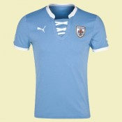 Nouveau Maillot De Football Uruguay 2014 2015 Domicile Puma Fashion