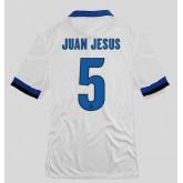 Nouveaux Maillot De Football (Juan Jesus 5) Inter Milan 2014 2015 Extérieur Nike Floqué Soldes Avignon
