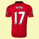 Nouveaux Maillot De Football Manchester United (Nani 17) 15/16 Domicile Nike