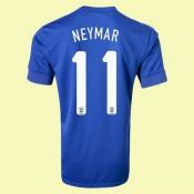 Nouveaux Maillot (Neymar 11) Brésil 15/16 Extérieur Soldes Nice