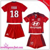 Olympique Lyonnais Maillot Fekir Enfant Kits 2015-16 Game Extérieur Maillot De Foot Fekir 2015-16 Collection