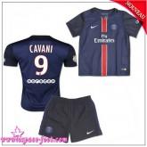 Paris Saint Germain Maillot Foot Cavani Baby Kits 2015/16 Game Domicile Maillot De Foot Cavani 2015/16 Soldes Avignon