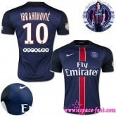 Paris Saint Germain Maillot Ibrahimovic 2015/2016 Game Domicile Maillot Foot Ibrahimovic 2015/2016