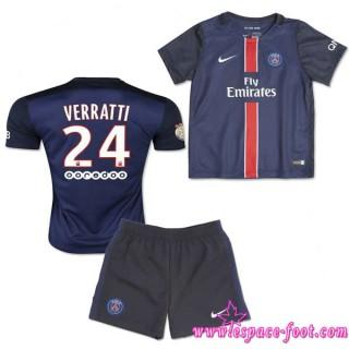 Paris Saint Germain Maillot Verratti Baby Kits 2015 2016 Game Domicile Maillot Foot Verratti 2015 2016 Soldes Cannes