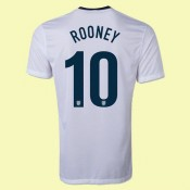 Personnaliser Maillot De Foot (Rooney 10) Angleterre 15/16 Domicile Provence