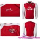 Solde Maillot Arsenal 2015-16 Manche Longue Domicile En Ligne