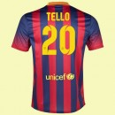Soldes Maillot Foot Barcelone (Tello 20) 15/16 Domicile Nike Pas Cher France