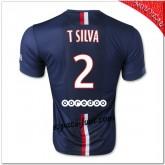 T.Silva 2 Maillots Paris Saint Germain Domicile 2014 2015