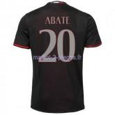 Abate AC Milan Maillot Domicile 2016/2017
