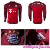 Achat De Maillots Foot Bayern Munich Gardien 2015/16 Manche Longue Extérieur Authentique